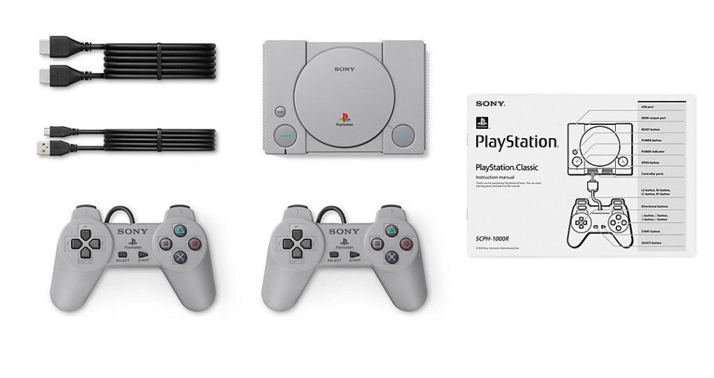 Inhalt Playstation Classic
