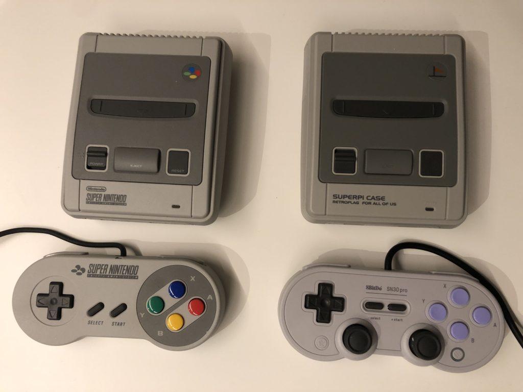 Vergleich SNES_Classic_Mini_vs_Retro_Konsole_mit_Recalbox